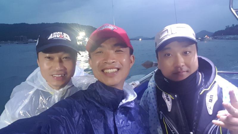 ☆★ 17.8월26일 일복낚시선단 일복호/뉴일복호 먹물조황★☆