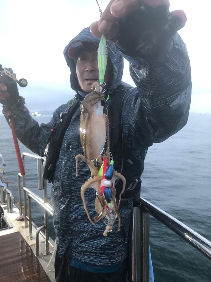 서해 바다 10월7일 대천항 제우스호 쭈,갑 조행기 입니다