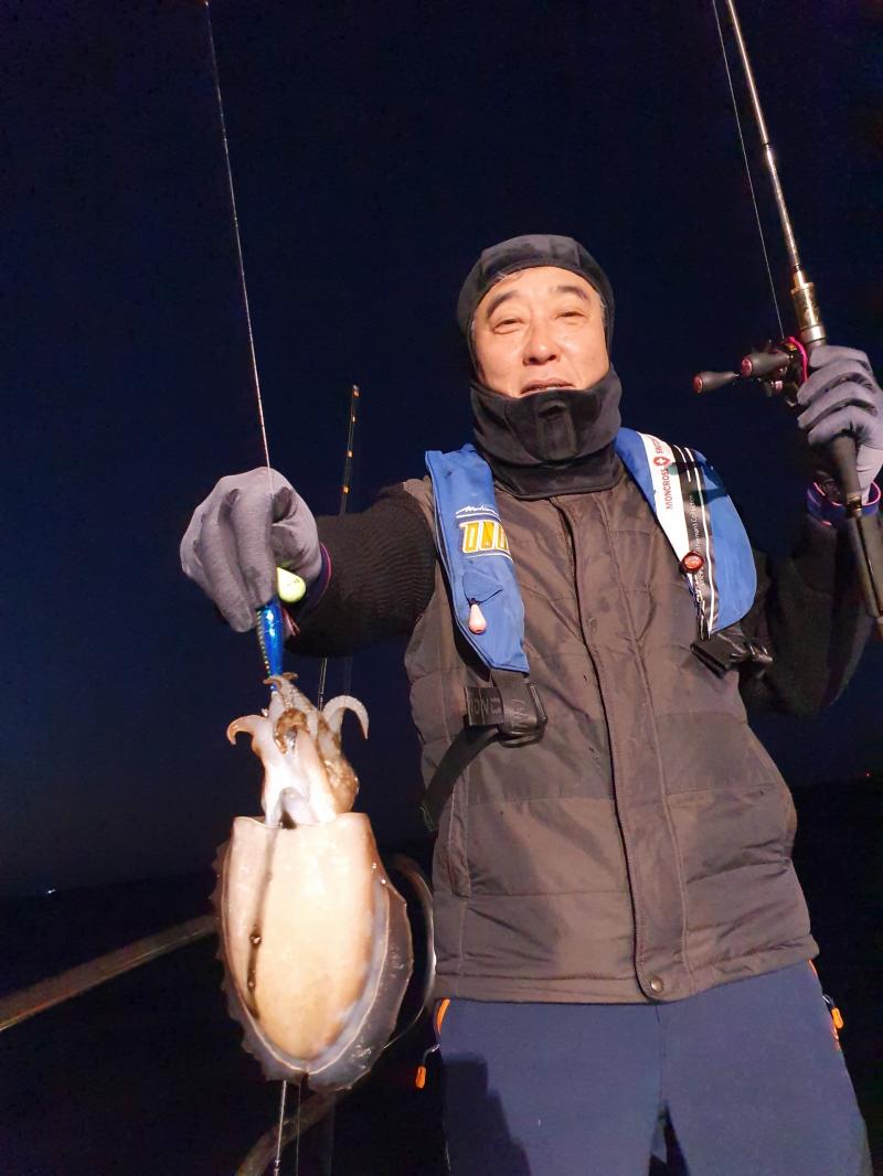 도깨비호  주꾸미 조황(11월 08일)