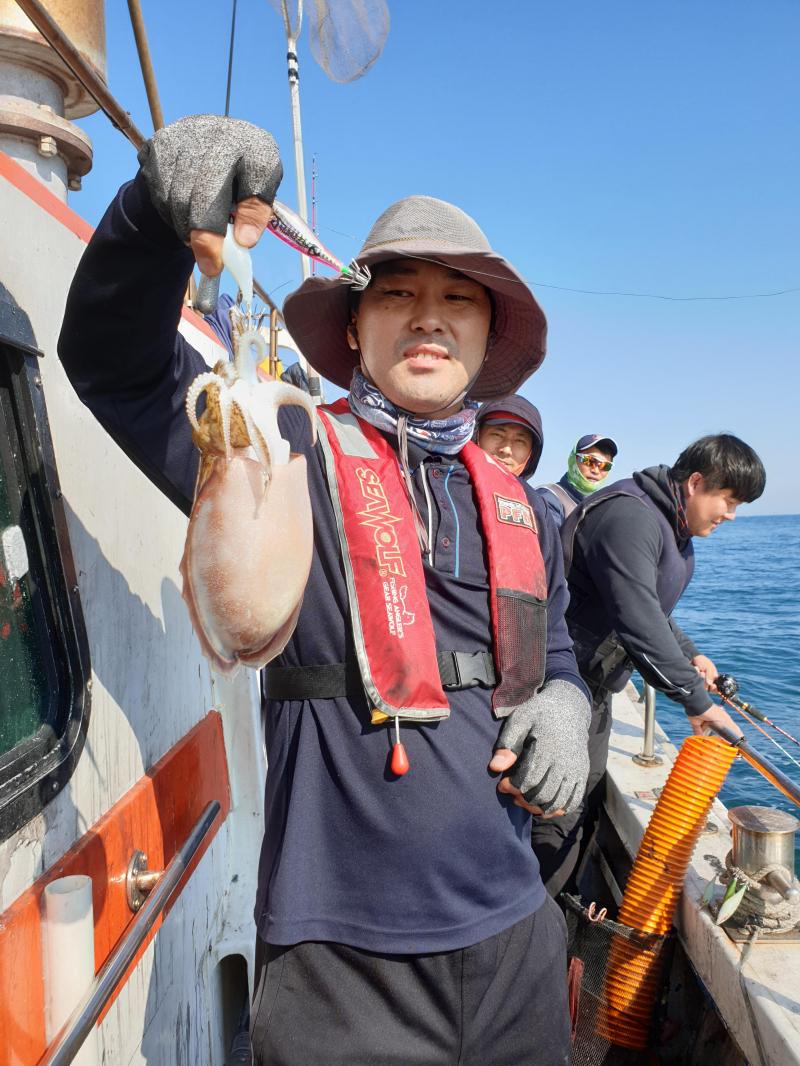 도깨비호 주꾸미 조황 ( 11월 09일 )