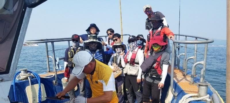 """""""프라임호"""" 7월21일(토요일)  단체분들 야유회 다녀왔습니다.."""