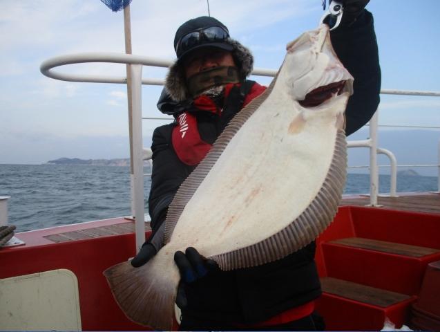 12월 2일 7짜 대광어 축하드립니다.