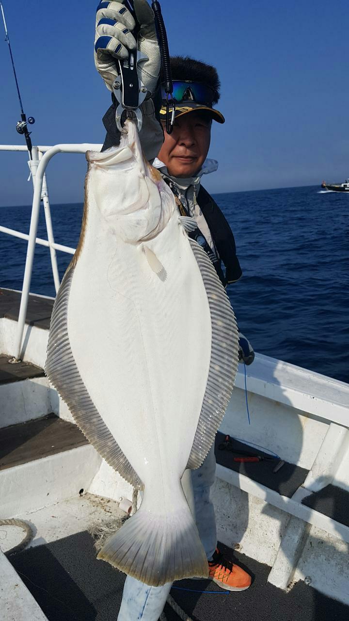 6월8일 빅마린호 80~85 대광어
