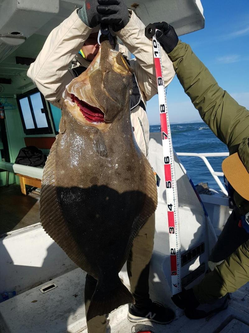 12월30일 빅마린호 미터급광어
