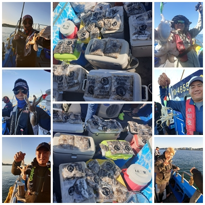 2019년 9월 17일 대천항 하이피싱 루피호 쭈꾸미 다녀왔습니다.