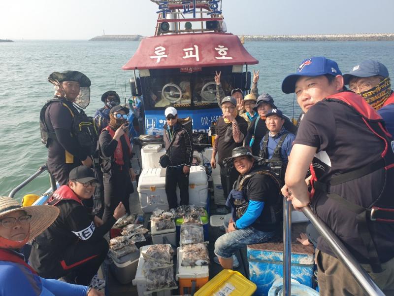 2019년 10월 04일 대천항 하이피싱 루피호 쭈꾸미 다녀왔습니다.
