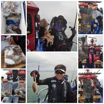 2019년 10월 06일 대천항 하이피싱 수호천사호 쭈꾸미 다녀왔습니다.