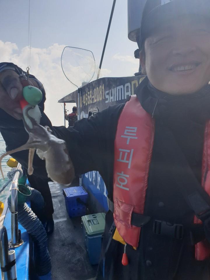 2019년 10월 06일 대천항 하이피싱 루피호 쭈꾸미 다녀왔습니다.