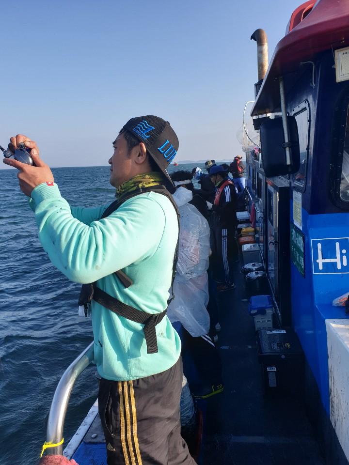 2019년 10월 24일 대천항 하이피싱 루피호 쭈꾸미 다녀왔습니다.