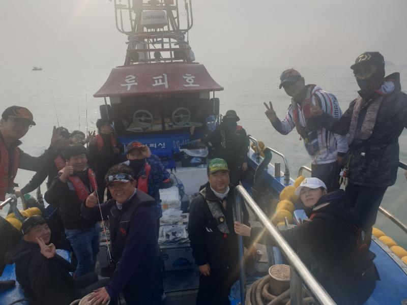 2019년 11월 02일 대천항 하이피싱 루피호 쭈꾸미 다녀왔습니다.