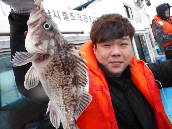 [시간낚시] 신흥호 4월 8일 조황!