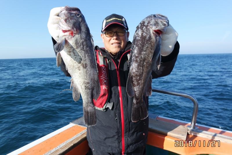 [2018-11-27] [고흥/나로도항 삼산낚시]  먼바다 왕우럭!!!    젊은김선장 010-4848-0776