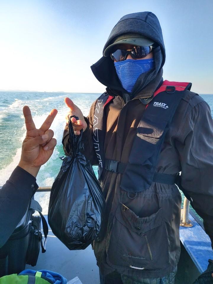 11월 22일 남부수협2호 쭈꾸미 조황