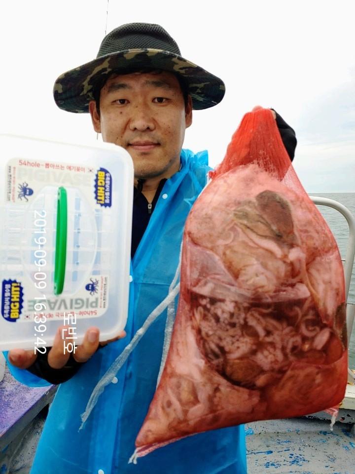 우중 쭈꾸미 대박조황