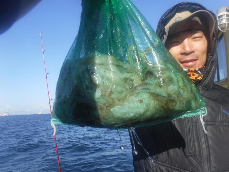 11월8일(금요일) ... 갑오징어+주꾸미,...조황보고 입니다 .