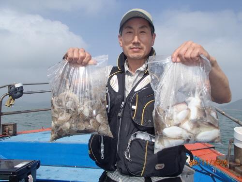 9월11일 갑오징어낚시와 쭈꾸미 낚시 대~박 조황입니다.