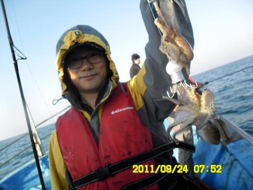 [대통피싱] 아름다운 낚시여행 - 갑오징어/쭈꾸미 출조