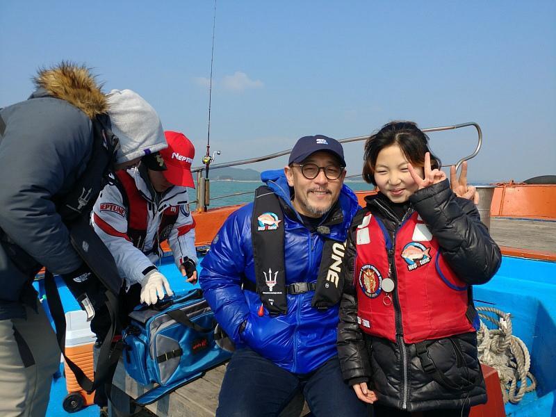 TV조선 (코리아 헌터) 김민서 (나의 늦둥 이븐딸) 촬영 사진 ....