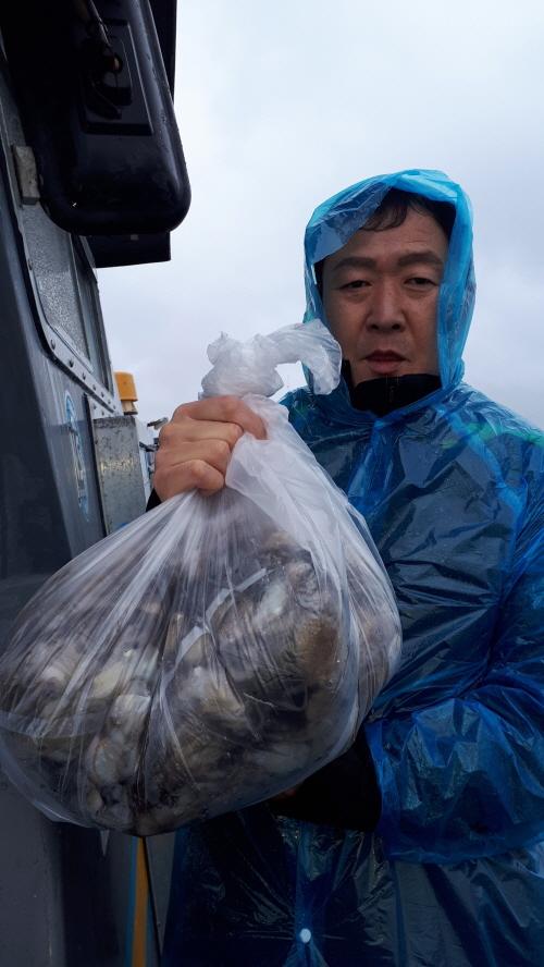10월7일 수평선호 쭈,갑조황입니다.