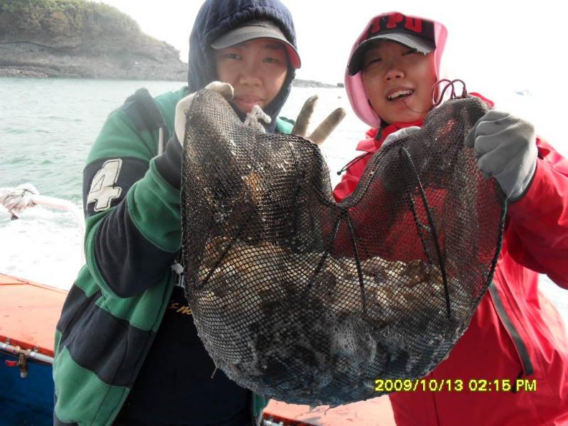 10월 13일 주꾸미&갑오징어 왕대박 조황소식